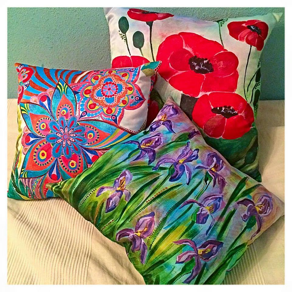 Подушки с принтом